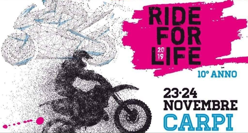 ride for life 2019 carpi bici elettriche mobilita elettrica