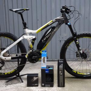 Haibike sduro allmtn 7 bici elettrica usata occasione bologna conto vendita