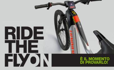 Test gratuito Flyon haibike bici elettrica prova gratis