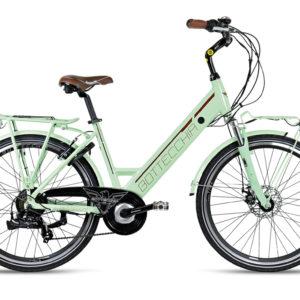 bottecchia be15 lady donna verde ebike 2020 bici elettrica citta bologna mobe
