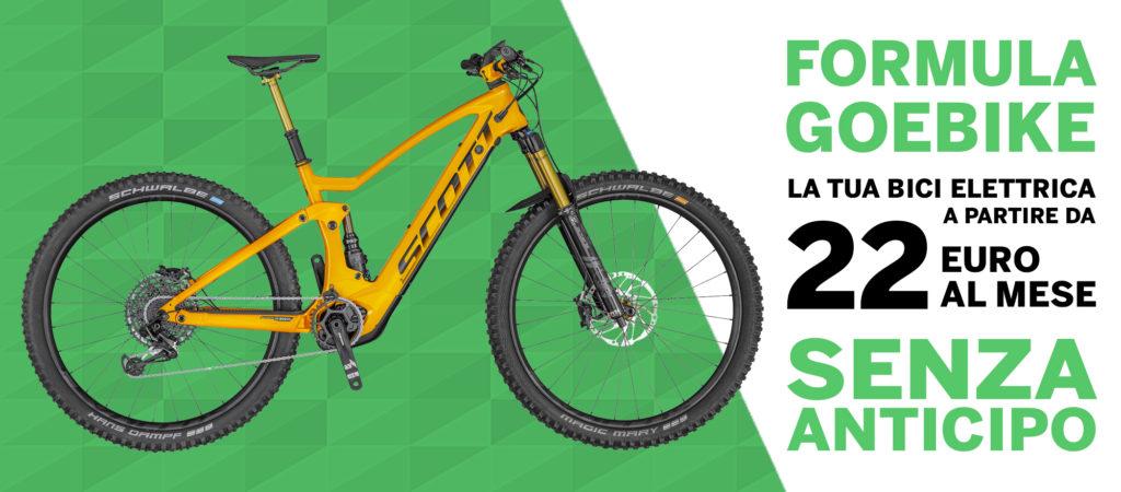 Formula GoEbike finanziamento bici elettrica bologna 2020