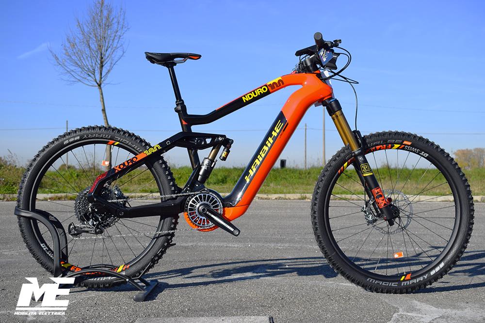 Haibike xduro nduro 10 1 ebike flyon 2020 bici elettrica mobe