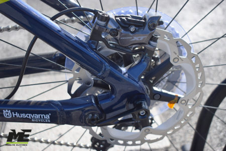 Husqvarna hard cross hc9 tech12 ebike shimano 2020 bici elettrica bologna mobe