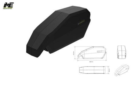 Batterie per bici elettriche Vision Bosch 750wh