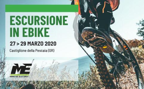 Escursione bici elettrica castiglione ebike mobilita elettrica