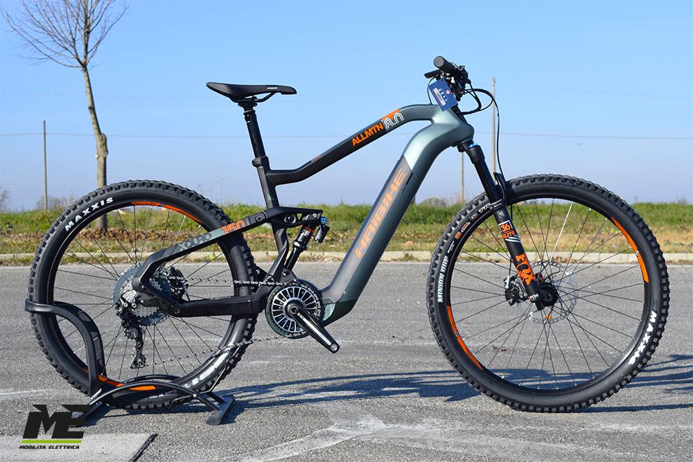 Haibike xduro allmtn 8 1 ebike flyon 2020 bici elettrica mobe