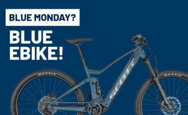 Blue monday 2021 blue ebike bici elettrica bologna