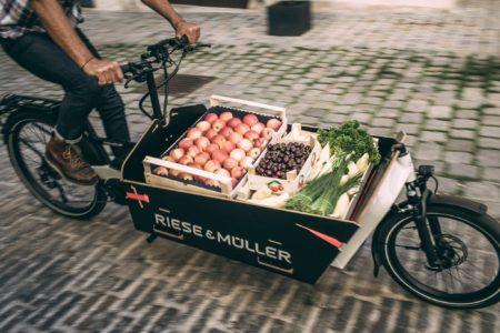 Cargo ebike riese muller bici elettrica bologna 2