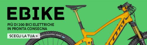 Banner ebike bici elettriche pronta consegna bologna