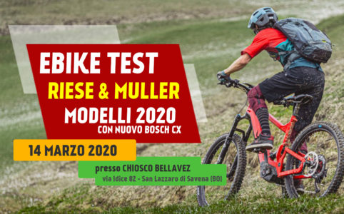 Ebike test Riese Muller 2020 14 marzo