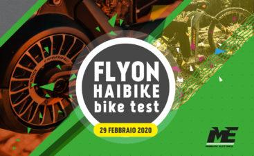 Ebike test flyon 29 febbraio