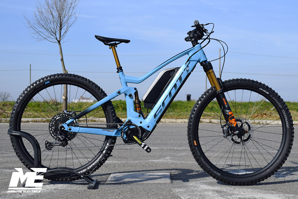 Scott genius eride super tuned 1 ebike nuovo bosch 2020 bici elettrica custom mobe