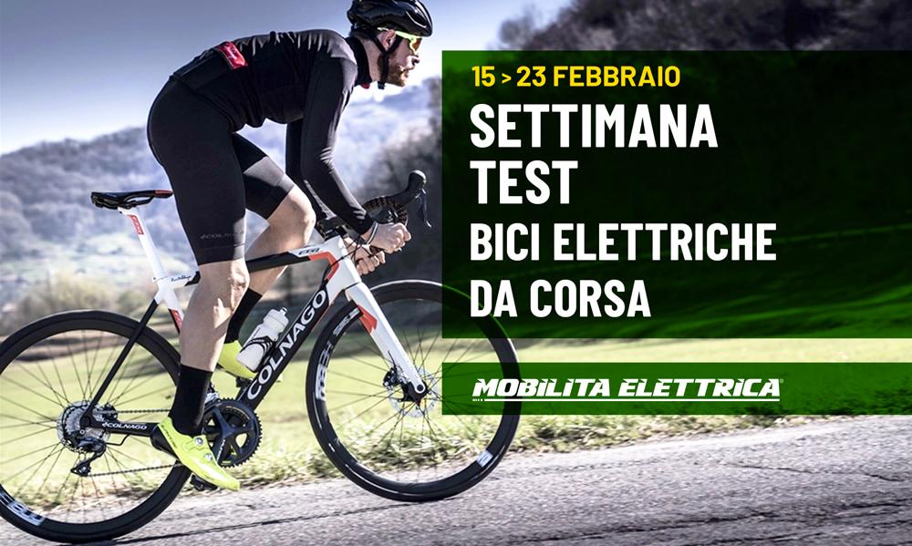 Settimana test e-road bici corsa elettriche bologna