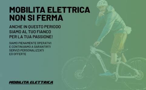 Non ci fermiamo mobilita elettrica ebike