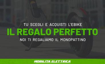 Regalo perfetto monopattino bici elettrica ebike