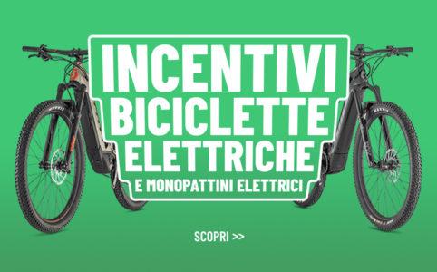 Incentivi monopattino bici elettrica ebike bonus mobilita 500 euro statali banner