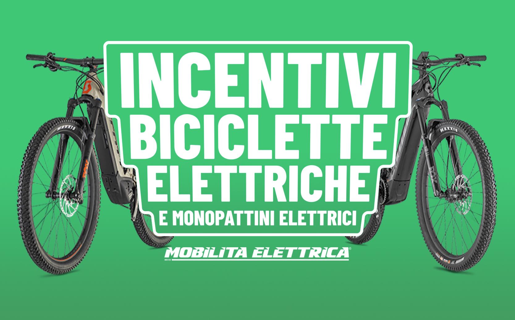 Incentivi monopattino bici elettrica ebike bonus mobilita 500 euro statali