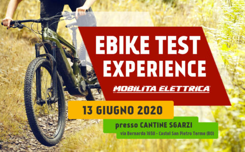 Ebike test experience 13 giugno prova bici elettriche