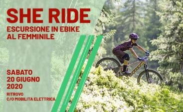 She ride escursione donne 20 giugno bici elettrica