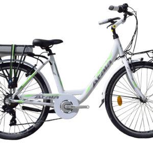 atala e-run 360 26 bianca verde ebike 2020 bici elettrica mobe