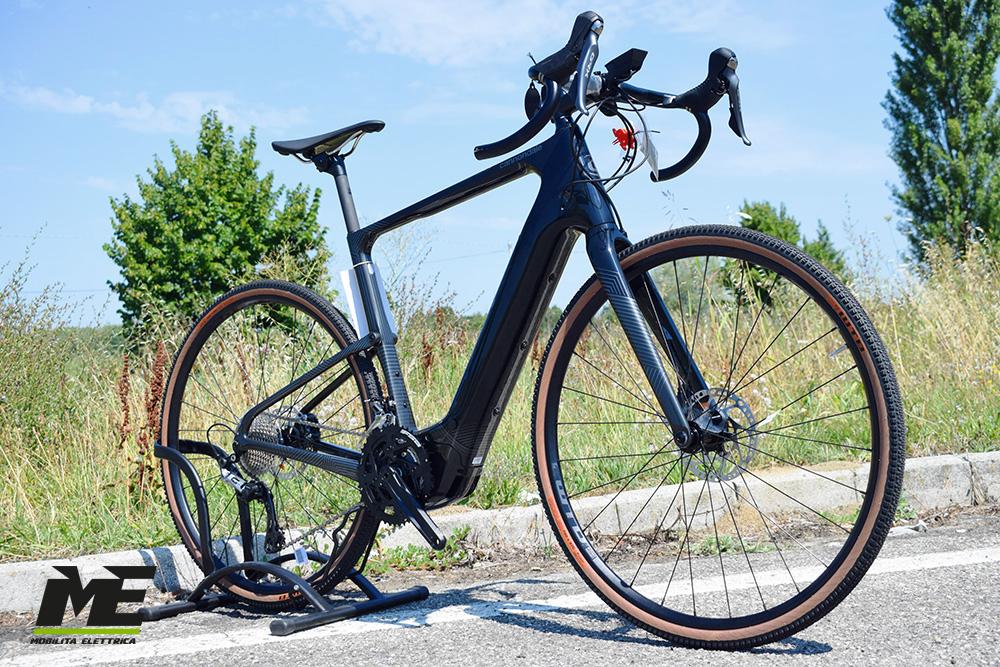 Cannondale Topstone Neo Carbon 2 2 ebike gravel bosch 2021 bici elettrica mobe