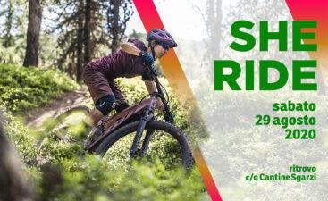 She ride escursione donne 29 agosto bici elettrica