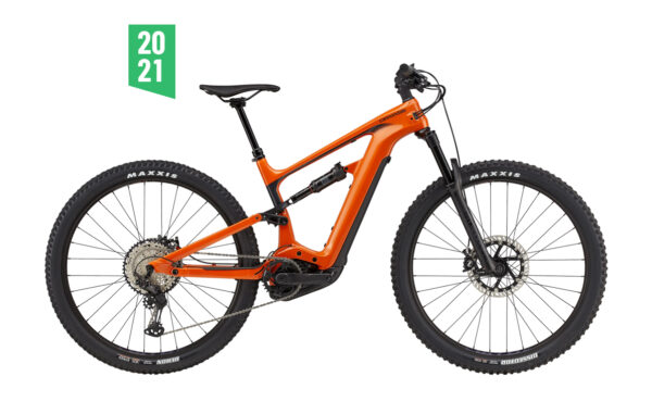 cannondale habit neo 2 arancione ebike 2021 bosch bici elettrica bologna mobe 2