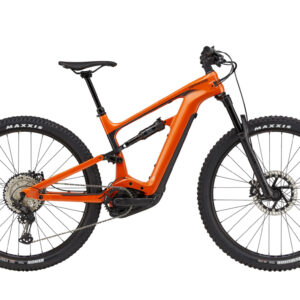 cannondale habit neo 2 arancione ebike 2021 bosch bici elettrica bologna mobe