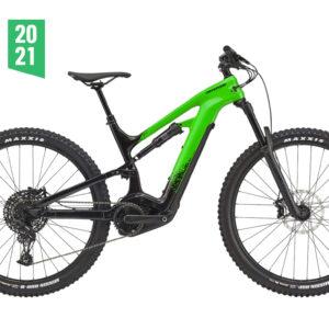 cannondale moterra neo carbon 3+ ebike green 2021 bosch bici elettrica bologna mobe 2