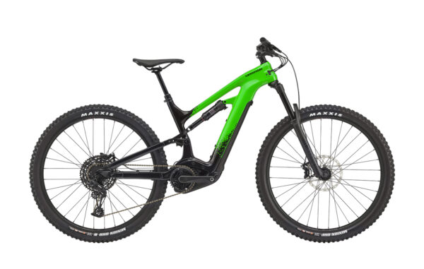 cannondale moterra neo carbon 3+ ebike green 2021 bosch bici elettrica bologna mobe