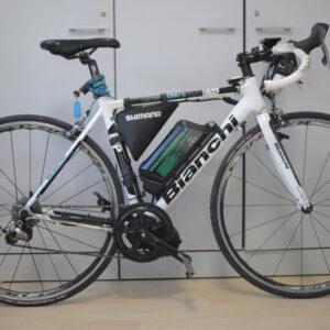 Bianchi samedi 928 bici corsa elettrica usata ebike conto vendita occasione mobe