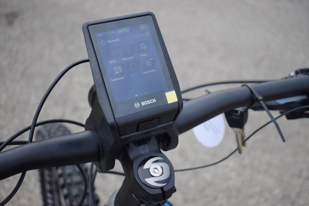 Bosch Nyon 2021 montato ebike bici elettrica mobe 12