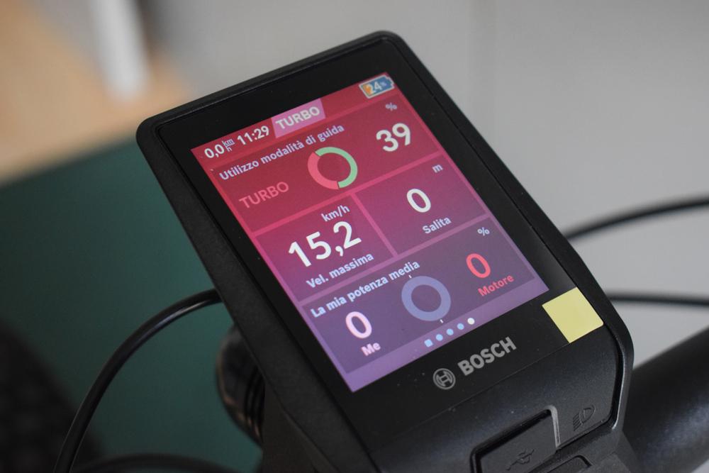 Bosch Nyon 2021 montato ebike bici elettrica mobe 3