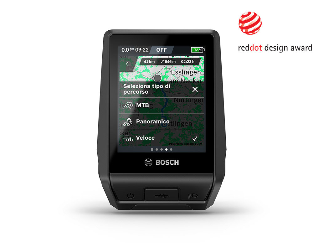 Bosch eBike Nyon 2021 TouchScreen 3