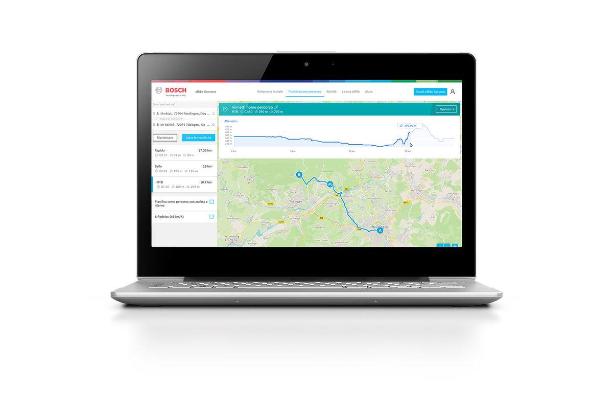 Bosch eBike Nyon 2021 TouchScreen 5