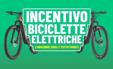 Incentivi monopattino bici elettrica ebike 3 novembre