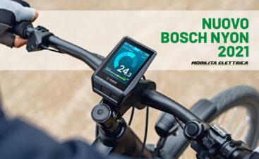 bosch nyon display 2021 touchscreen mobilita elettrica