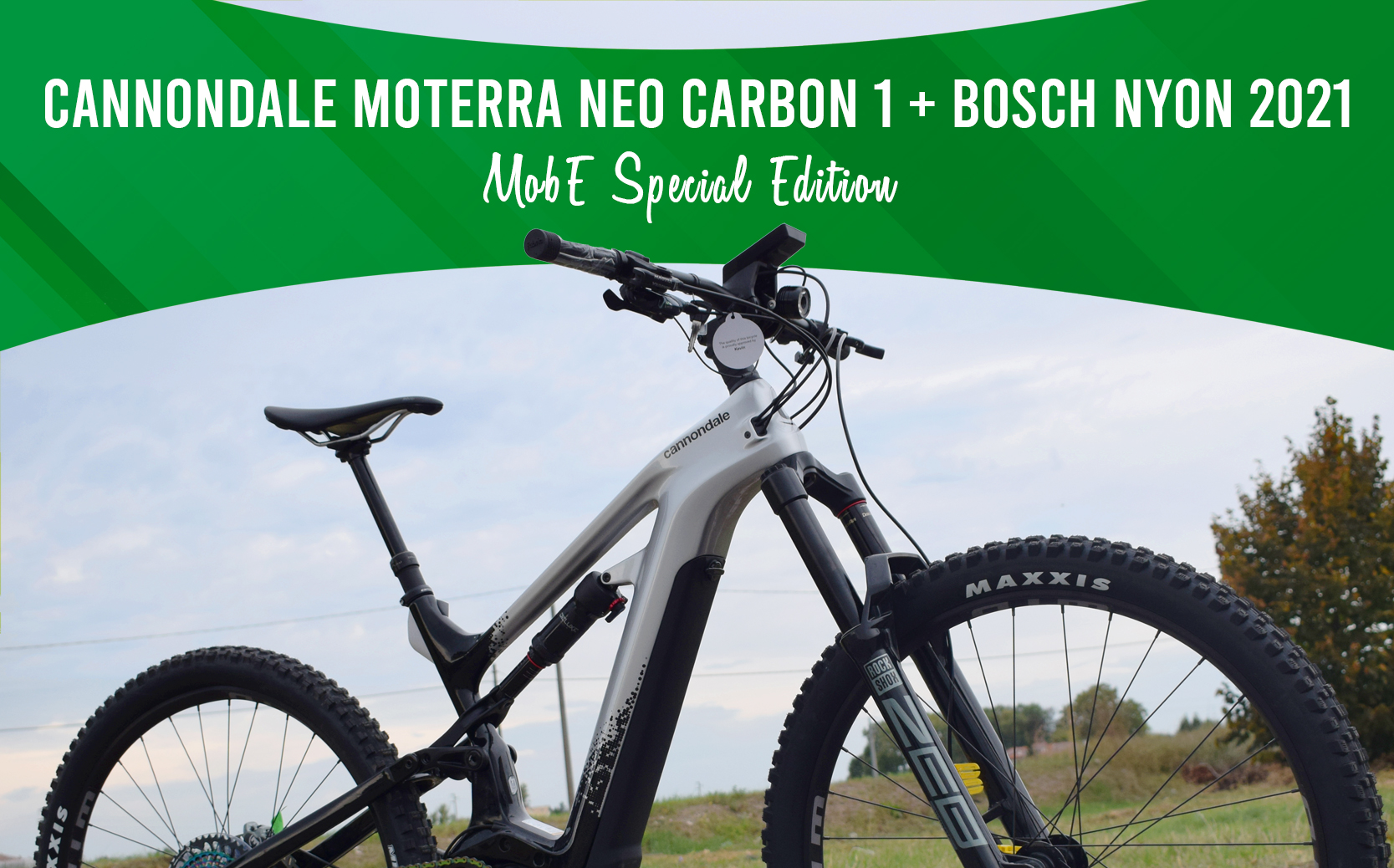 cannondale moterra neo carbon 1 mobe special edition bosch nyon display 2021 touchscreen mobilita elettrica