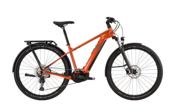 cannondale tesoro neo x 2 arancio ebike 2021 bosch bici elettrica bologna mobe