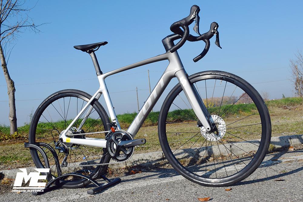 Scott addict eride 20 2 ebike corsa 2021 bici elettrica mobe