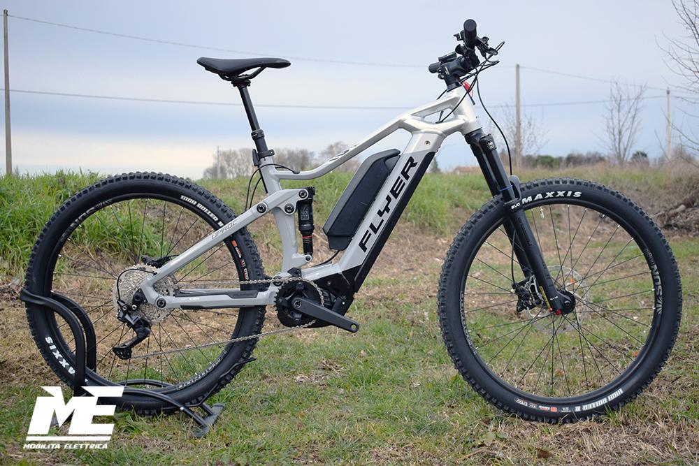 Flyer uproc3 4-10 doppia batteria 1 ebike bosch bici elettrica bologna mobe