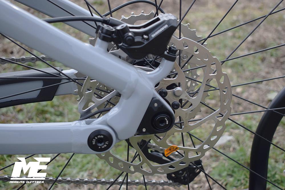 Flyer uproc3 4-10 doppia batteria tech11 ebike bosch bici elettrica bologna mobe