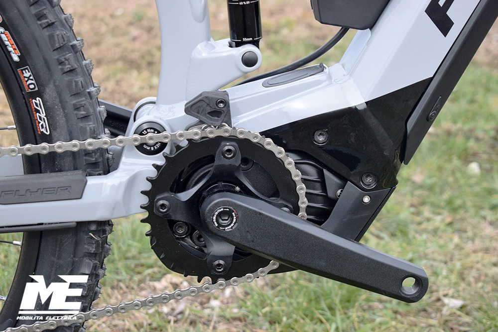 Flyer uproc3 4-10 doppia batteria tech2 ebike bosch bici elettrica bologna mobe