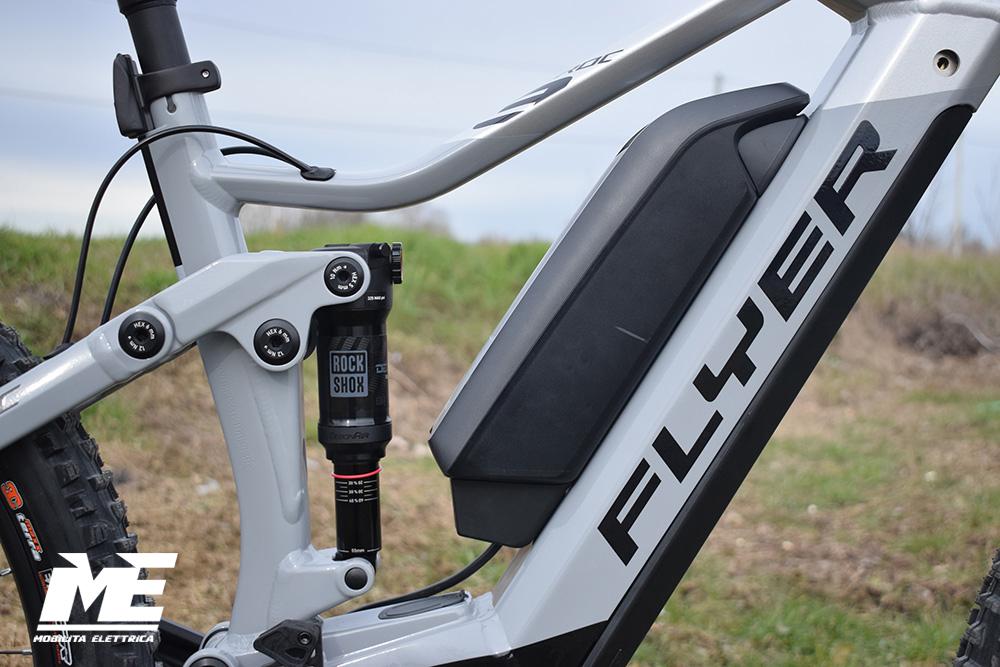 Flyer uproc3 4-10 doppia batteria tech3 ebike bosch bici elettrica bologna mobe