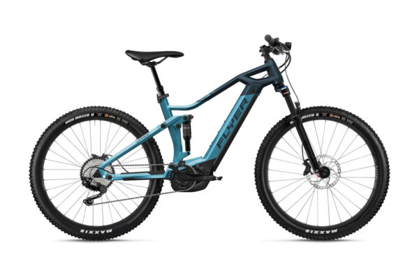 Flyer uproc3 4-10 blu ebike 2021 bosch bici elettrica bologna mobe