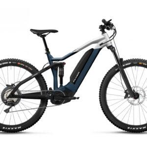 Flyer uprock7 4-10 blu ebike 2021 panasonic bici elettrica bologna mobe