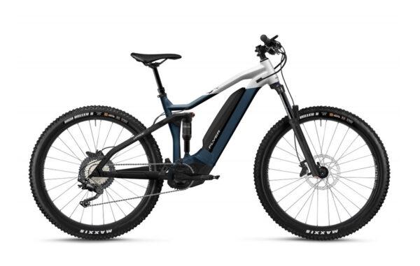 Flyer uprock4 4-10 bianco blu ebike 2021 panasonic bici elettrica bologna mobe