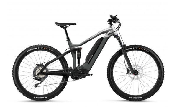 Flyer uprock4 4-10 grigio ebike 2021 panasonic bici elettrica bologna mobe