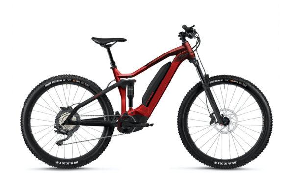 Flyer uprock4 4-10 rosso ebike 2021 panasonic bici elettrica bologna mobe