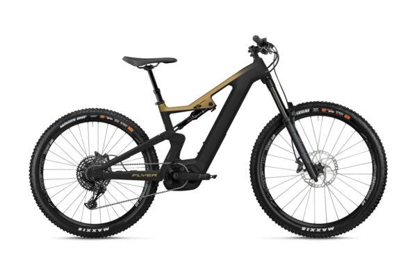 Flyer uproc6 6-50 oro nero ebike 2021 bosch bici elettrica bologna mobe
